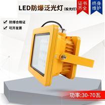 LED防爆泛光燈工程照明夜間施工