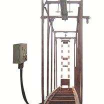 气动挡车梁QZCL巷道矿车防护吊梁厂机械设备