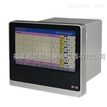 虹润推出新品触模式彩色流量无纸记录仪
