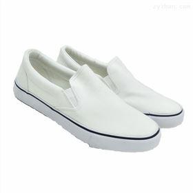 白色(加厚底)低帮鞋