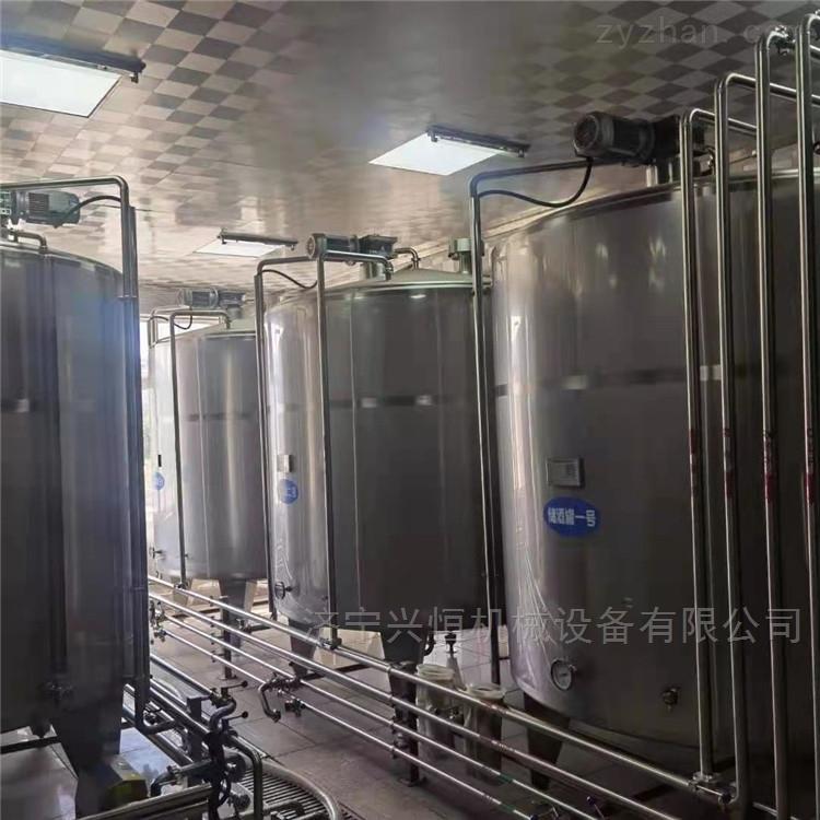 供应一批二手1-2-5-吨双层搅拌罐