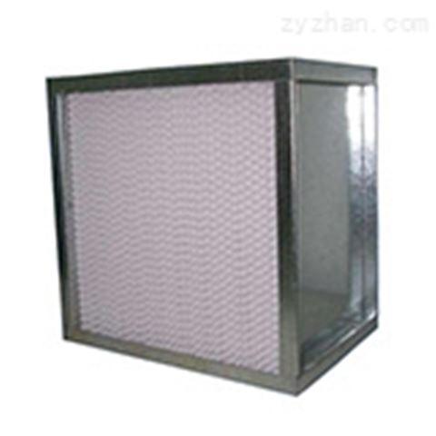 镀锌框纸隔板高效过滤器