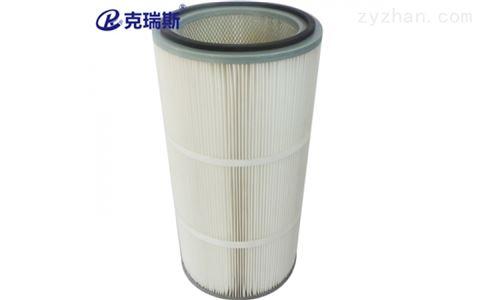 抛丸机聚酯纤维除尘滤芯滤筒320x220x750