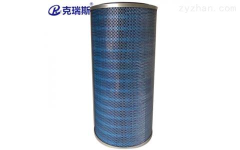 工业阻燃除尘PTFE覆膜滤筒滤芯 350x240x750