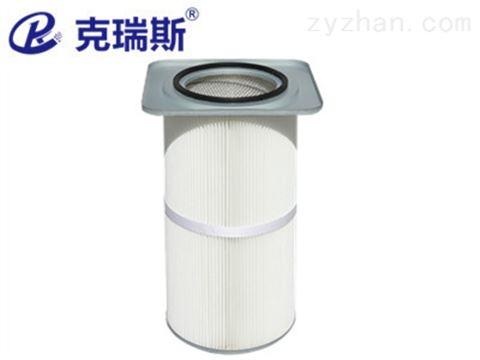 方盖滤筒370*370*660电厂 钢厂用方形卡盘式滤筒