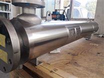 雙管板列管式換熱器