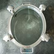 卫生级椭圆全玻璃人孔