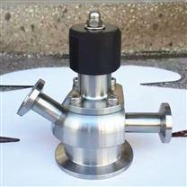 不锈钢卫生级T型无菌取样阀 无菌液体采样阀