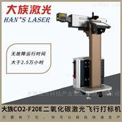 全自动激光打标机药厂流水线生产日期打码机