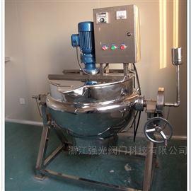 QGJCG-200电加热搅拌夹层锅