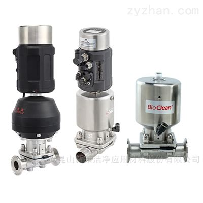 KDV-PS系列气缸气动无菌隔膜阀