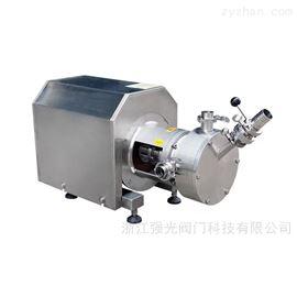QGRHP-I卫生级吸粉式混合分散乳化机