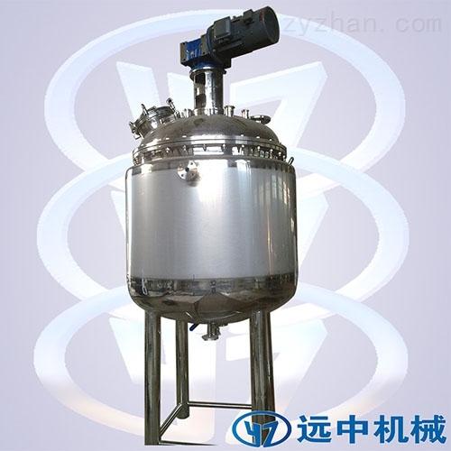 小型双搅拌反应釜液体搅拌罐双层电加热