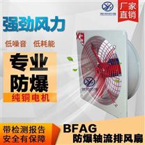 BFAG-600大风量防爆排风扇 IIB级隔爆型风扇
