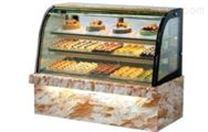 弧形琥珀石蛋糕柜