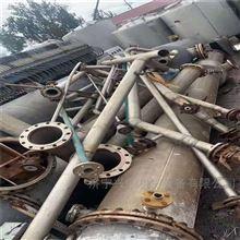 二手三效5噸鈦材強制循環蒸發器