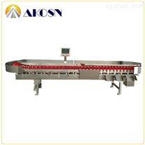 帶水雞翅重量分選機在線自動檢測重量分級