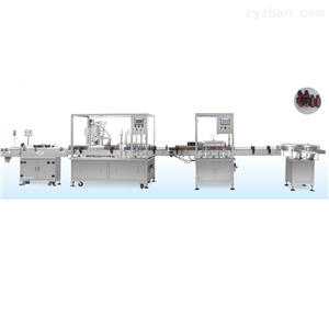 YS-HGX-60糖浆口服液气洗灌装生产线